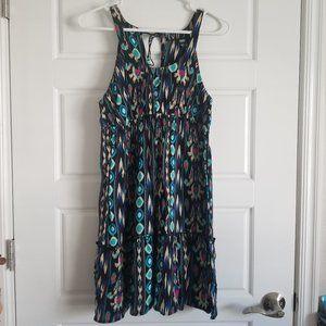 Cute turquoise tribal Mossimo dress